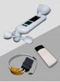 Kit sensor de vento, sol e chuva