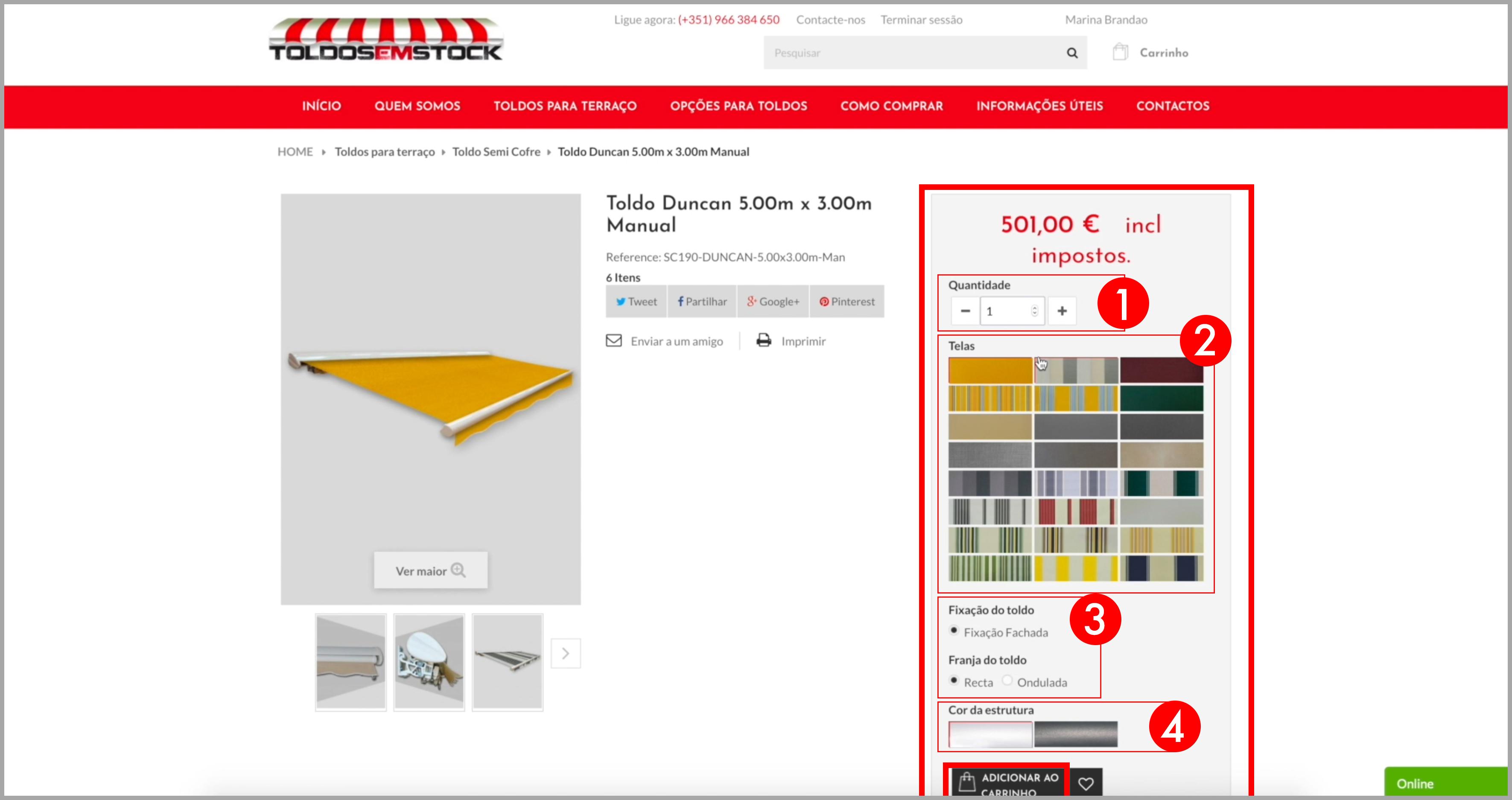 comprar online toldos